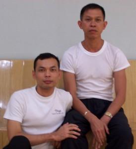 My first yoga teacher Guru Wat
